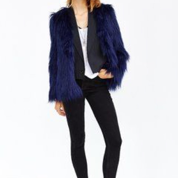 Urban Outfitters Jackets & Blazers - Urban Outfitters Faux Fur Jacket